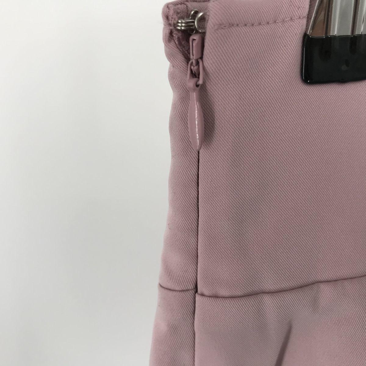 N518 rienda リエンダ キュロットスカート ベビーピンク Sサイズ  _画像3