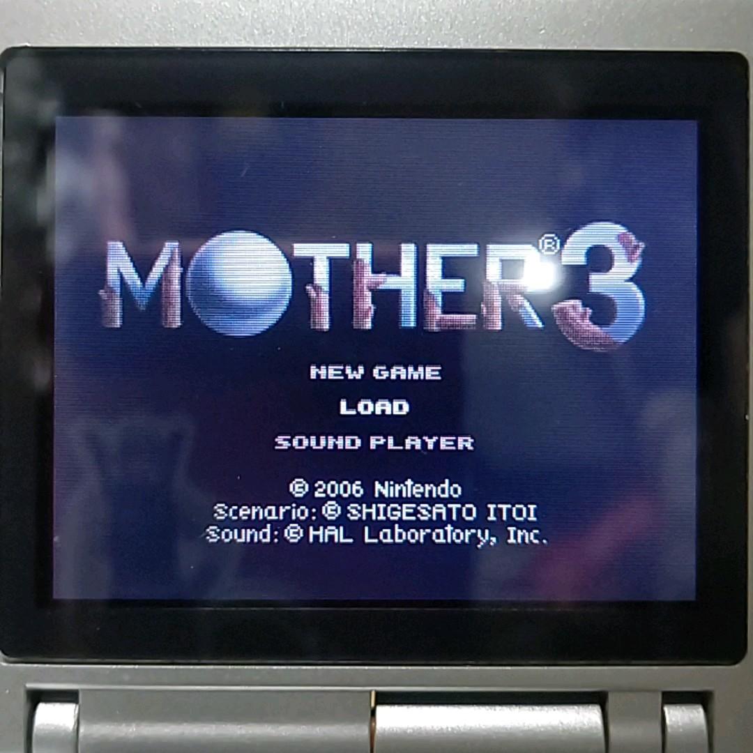 ☆値下げ☆ゲームボーイアドバンス マザー3 MOTHER 箱説付