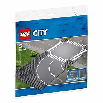 レゴ(LEGO) シティ ロードプレート カーブと交差点 60237 ブロック おもちゃ 男の子 車 電車_画像6