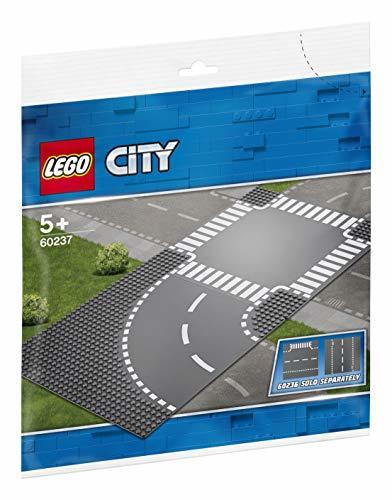 レゴ(LEGO) シティ ロードプレート カーブと交差点 60237 ブロック おもちゃ 男の子 車 電車_画像1
