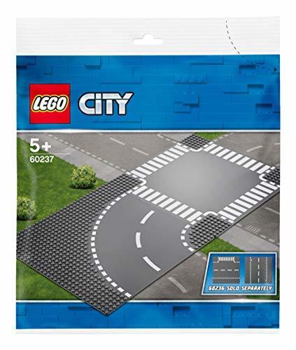 レゴ(LEGO) シティ ロードプレート カーブと交差点 60237 ブロック おもちゃ 男の子 車 電車_画像4