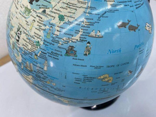 地球儀 英語表記 学用品 文房具 勉強 地理 社会 インテリア 210219-167_画像3