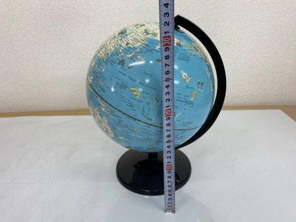 地球儀 英語表記 学用品 文房具 勉強 地理 社会 インテリア 210219-167_画像4