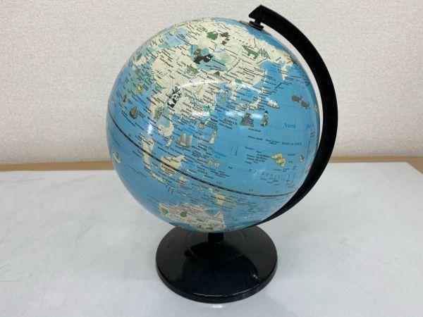 地球儀 英語表記 学用品 文房具 勉強 地理 社会 インテリア 210219-167_画像1