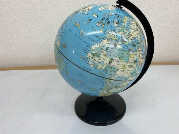 地球儀 英語表記 学用品 文房具 勉強 地理 社会 インテリア 210219-167_画像2
