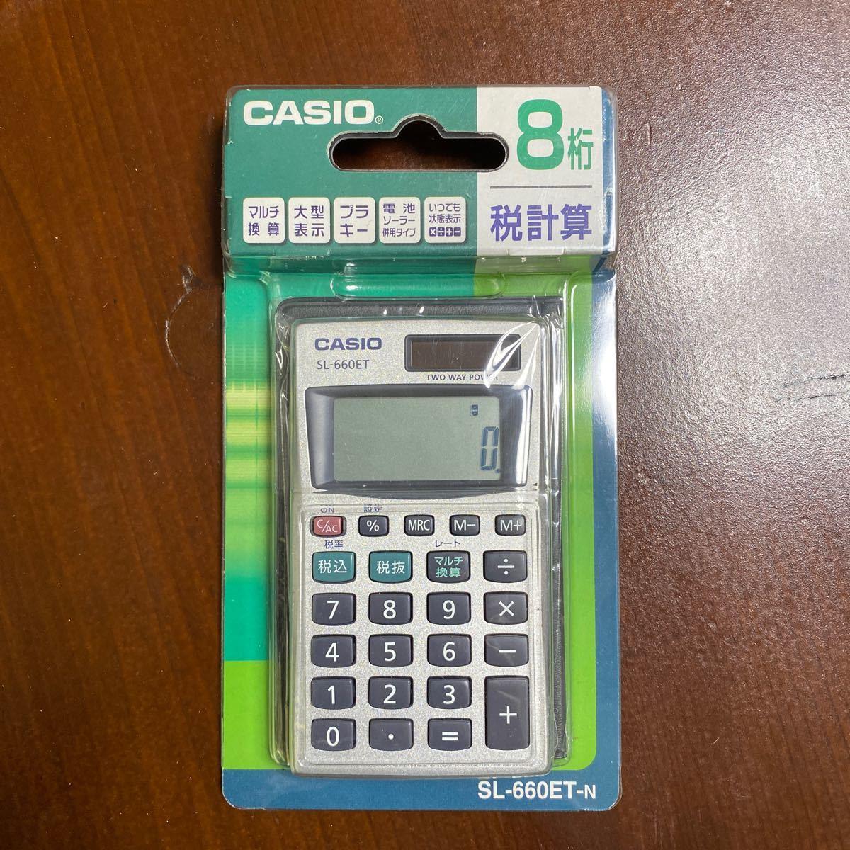 CASIO 電卓 SL-660ET-N