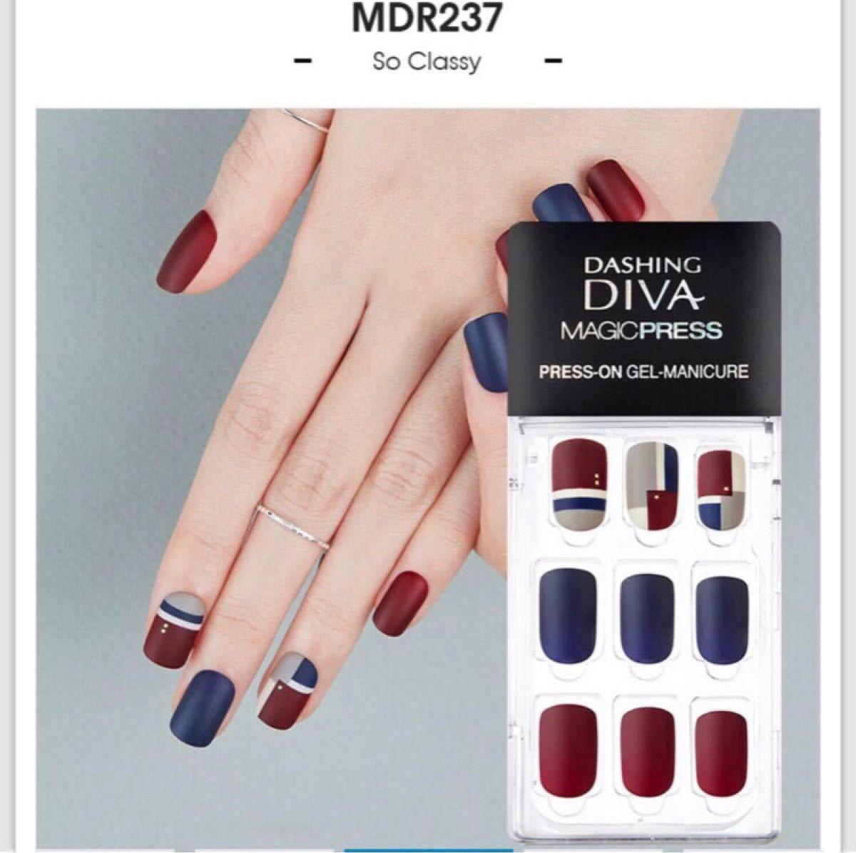 【専用】ダッシングディバ DASHING DIVA マジックプレス ネイルチップ MDR508OV MDR237