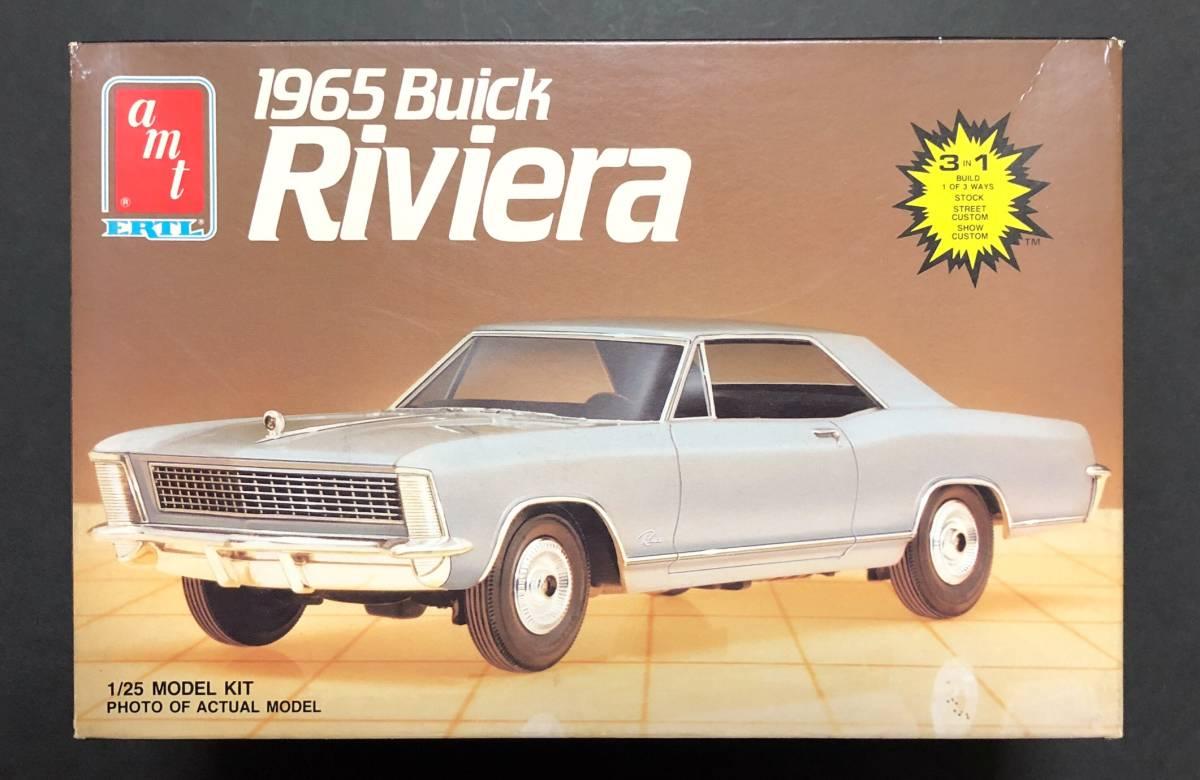 即決@中古絶版模型堂 amt 1/25 1965ビュイックリビエラ Buick Riviera '65 ビュイック リビエラ 定形外送料510円_画像1