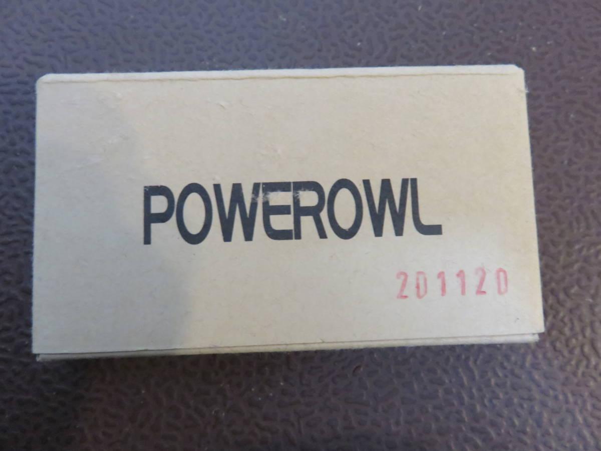 POWEROWL 単4形 充電式電池 8本パック 未使用品_画像1