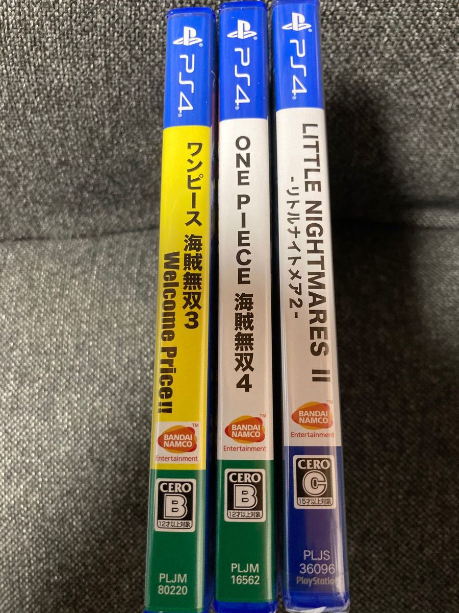 リトルナイトメア2 新品未開封 ワンピース無双3+4       中古美品3本セット