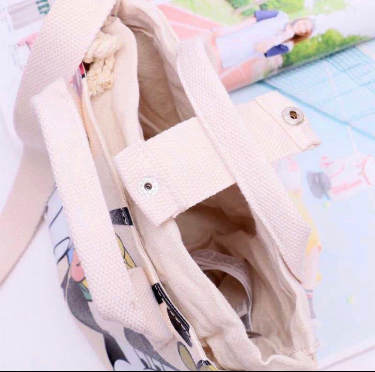 ショルダーバッグ ハンドバッグ ミニバッグ 可愛い 厚手キャンバス ミニバッグ