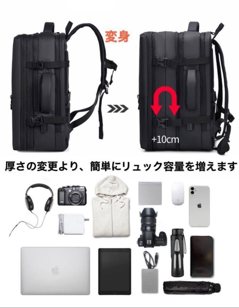 リュックサック バックパック ビジネスリュック USBポート 大容量 男女兼用