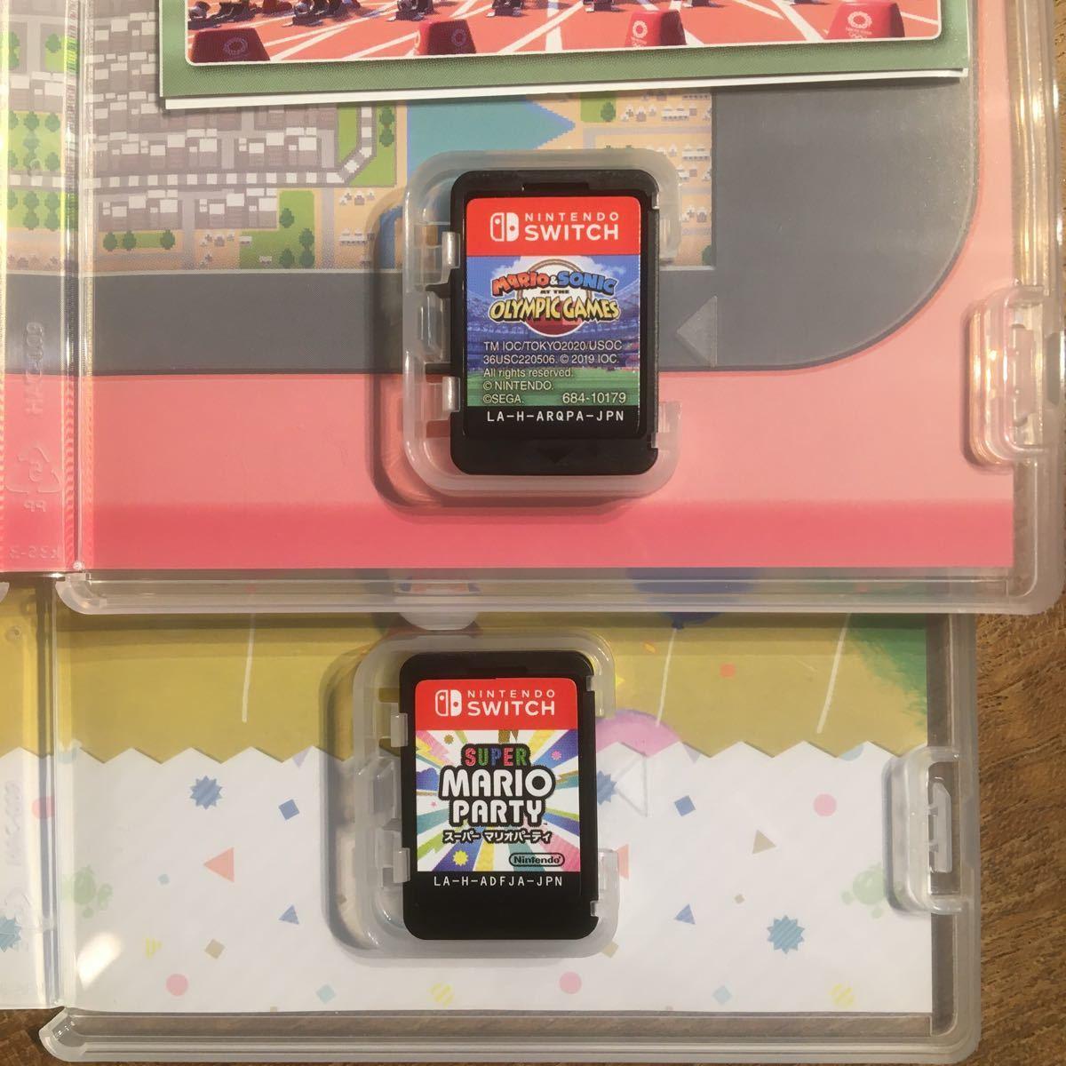 Nintendo Switch スーパーマリオパーティ と マリオ&ソニックAT東京2020オリンピックのセット