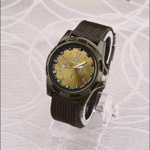 Hh007:◇最安値に自信◇ 男性ナイロンバンド軍用時計 Gemius アーミー腕時計高品質クォーツムーブメントメンズスポーツウォッチ カジュアル_画像6