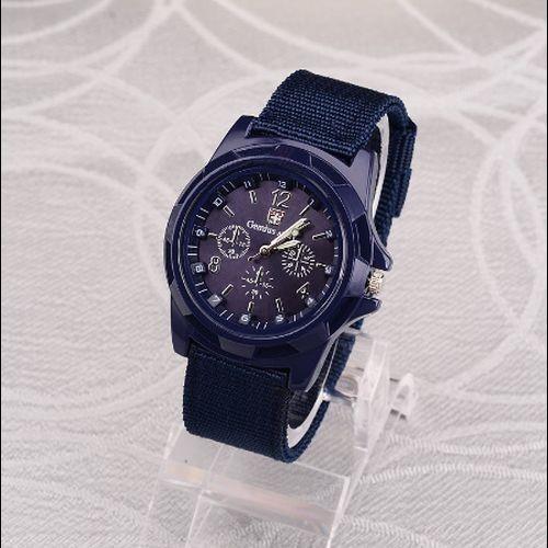 Hh007:◇最安値に自信◇ 男性ナイロンバンド軍用時計 Gemius アーミー腕時計高品質クォーツムーブメントメンズスポーツウォッチ カジュアル_画像5