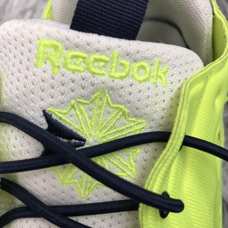 Reebok リーボックCLASSIC FURYLITE クラシック フューリーライト スニーカー ランニングシューズ ソーラーイエロー V69441 27cm 5244_画像6