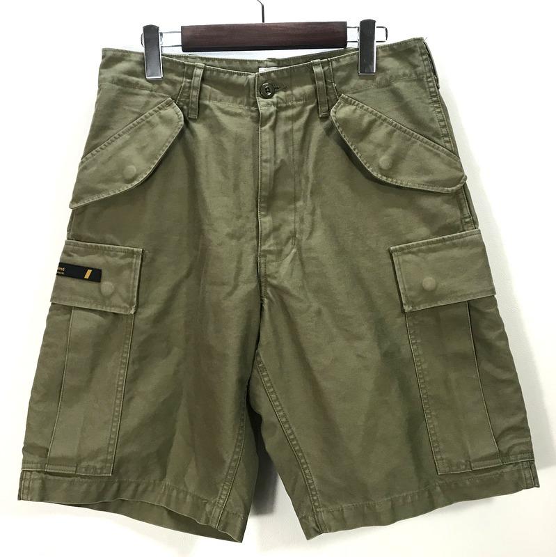 ダブルタップス CARGO SHORTS 20SS ズボン パンツ ハーフパンツ 短パン 袋付き 美品 メンズ Sサイズ カーキ WTAPS ボトムス A4592◆