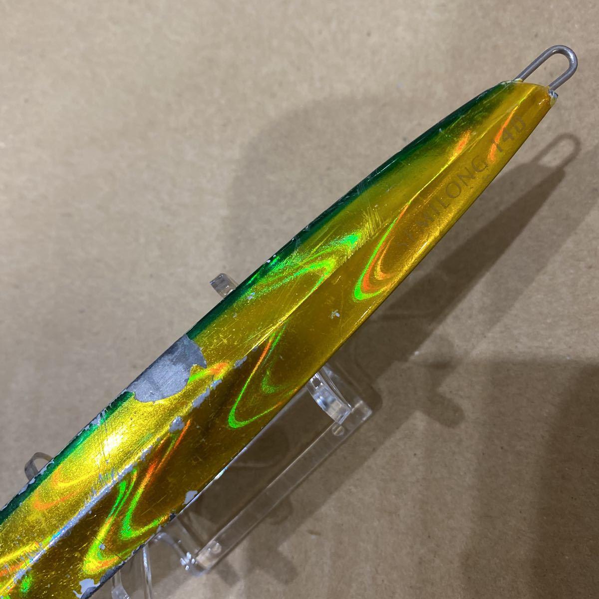 CB ONE シービーワン ゼロワン セミロング 140 ZERO1 SEMILONG 人気色 R6 メタルジグ ジギング ソルト ルアー 同梱可_画像3