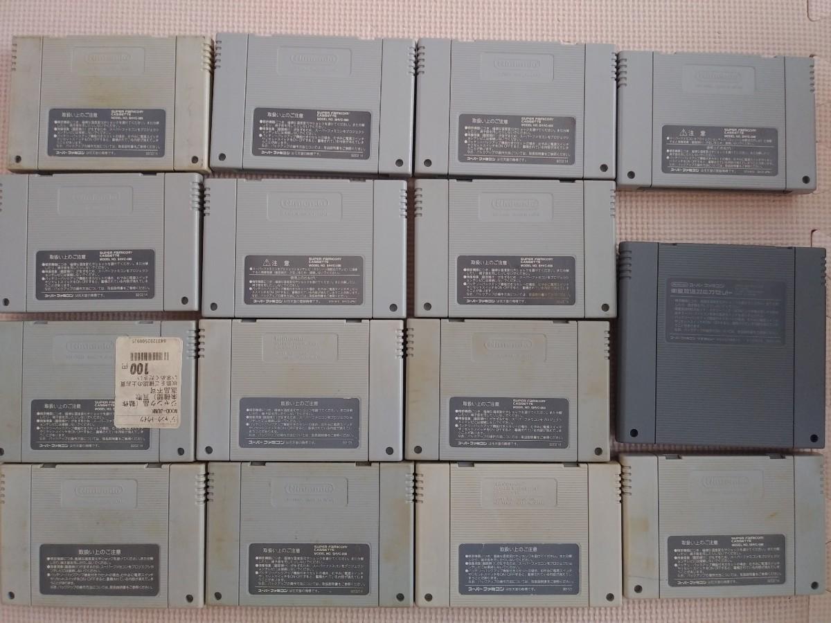スーファミソフト まとめ売り スーパーファミコンソフト FF