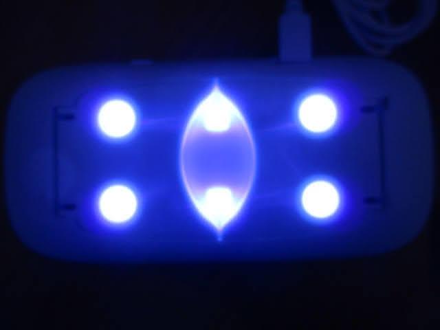 ◆ジェルネイルライト 5点セット◆SUNmini UVLED Nail Lamp 未使用品 ネイルアート用品 ネイルケア 美容用品♪H-170309_画像2