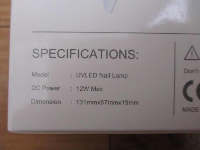 ◆ジェルネイルライト 5点セット◆SUNmini UVLED Nail Lamp 未使用品 ネイルアート用品 ネイルケア 美容用品♪H-170309_画像10