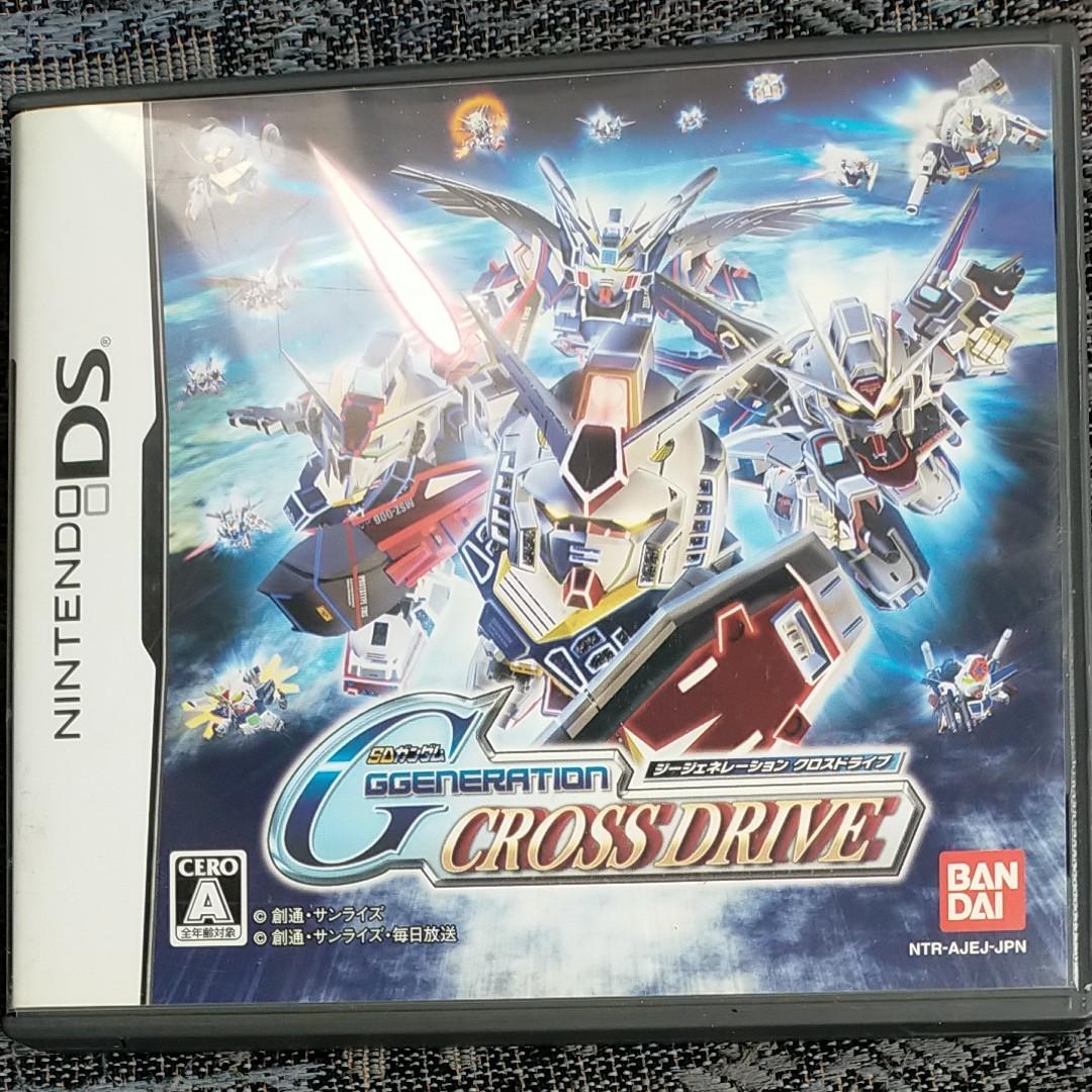 DSソフト SDガンダムGジェネレーションクロスドライブ