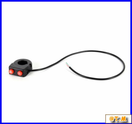 K-166 バイク ハンドルバー ライトスイッチ on offボタン ヘッドスポット フォグ_画像2
