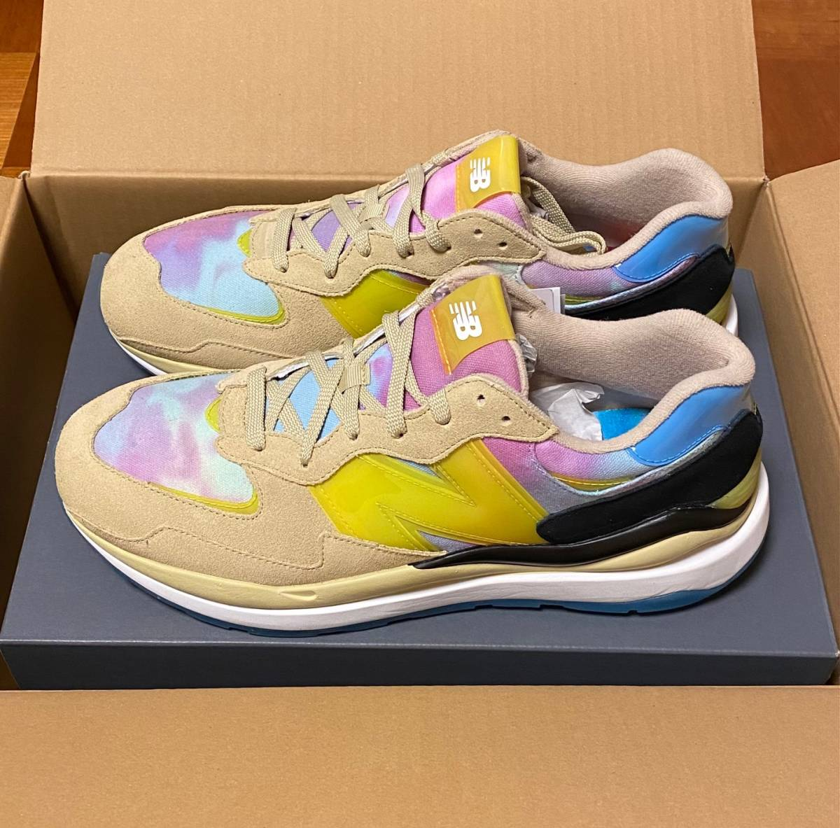 【新品未使用/atmos】NewBalance M5740AT Beachside 30cm_画像1