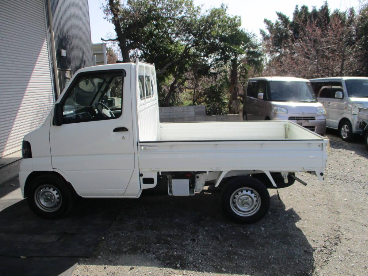 日産クリッパートラック 5F 車検付きR3年9月まで エアコン パワステ エアバック 愛知_画像4