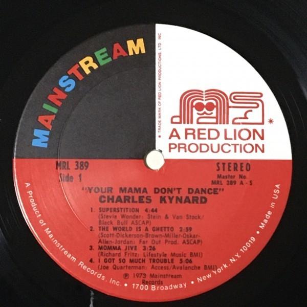 Charles Kynard - Your Mama Don't Dance - Mainstream ■_画像2