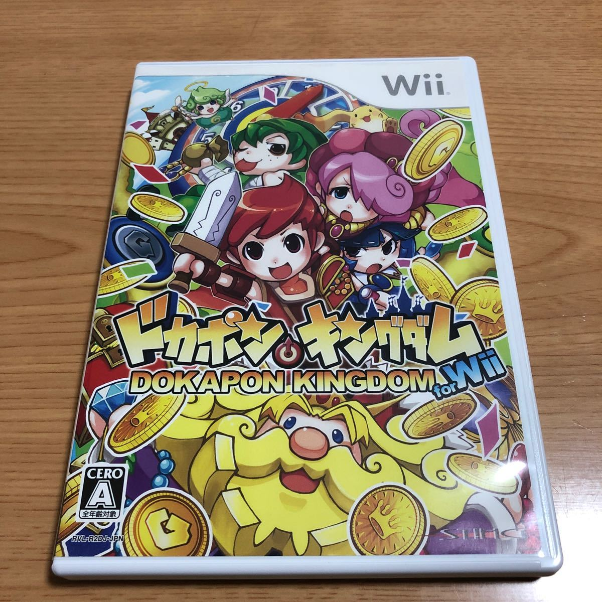 ドカポンキングダム for Wii ★レアソフト★