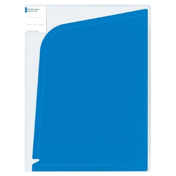 【未使用品】コクヨ ホルダーブック 4ポケット A4 ダークブルー フ-5702DB×5冊セット_画像1