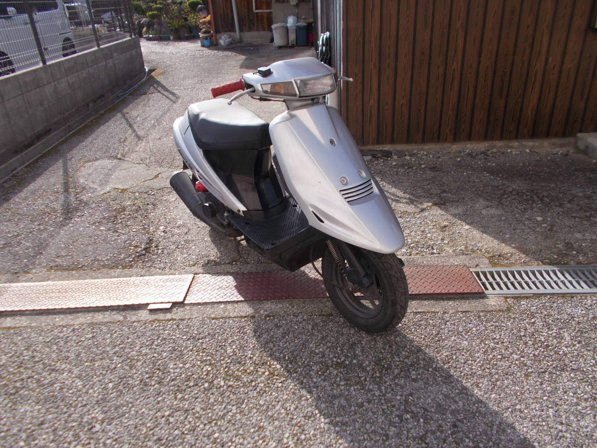 「スズキ アドレスV100 CE11A(シルバー)中古車◆彦根市~」の画像2