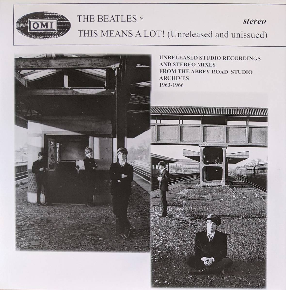 The Beatles ビートルズ - This Means A Lot! (Unreleased and unissued) 限定アナログ・レコード