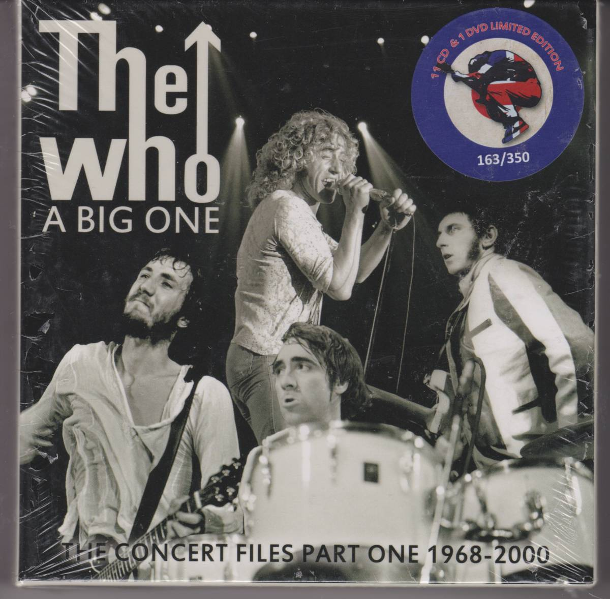 The Who ザ・フー A Big One-The Concert Files Part One 1968-2000 350枚限定NTSC方式DVD付十一枚組CDボックス