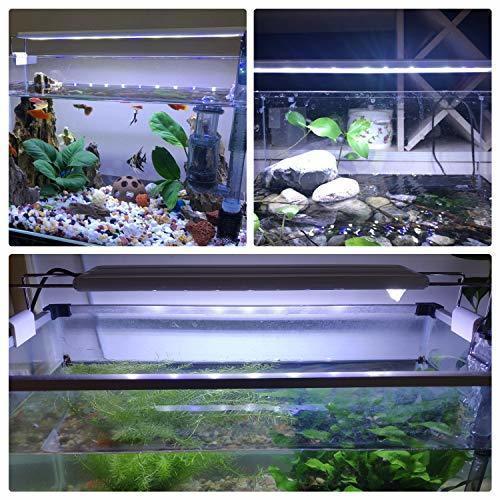 【値下げ中】LEDGLEアクアリウムライト14W led水槽ライト72個LED 50~60cm対応熱帯魚/観賞魚飼育・水草育成・_画像7