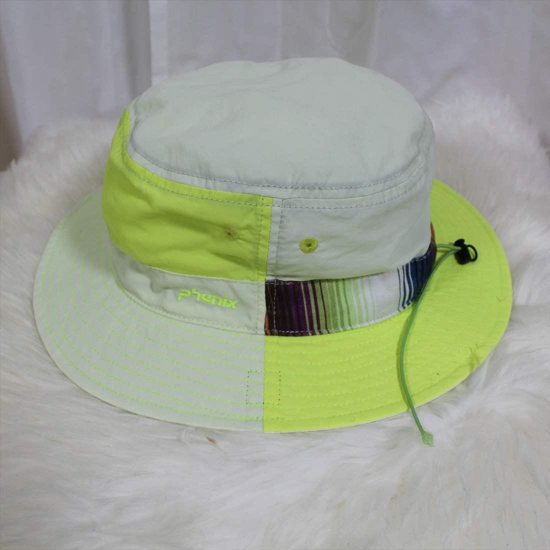 フェニックス phenix ハット 新品 ジュニアフリー 帽子 HAT レディース イエロー PHAA8HW42_画像3