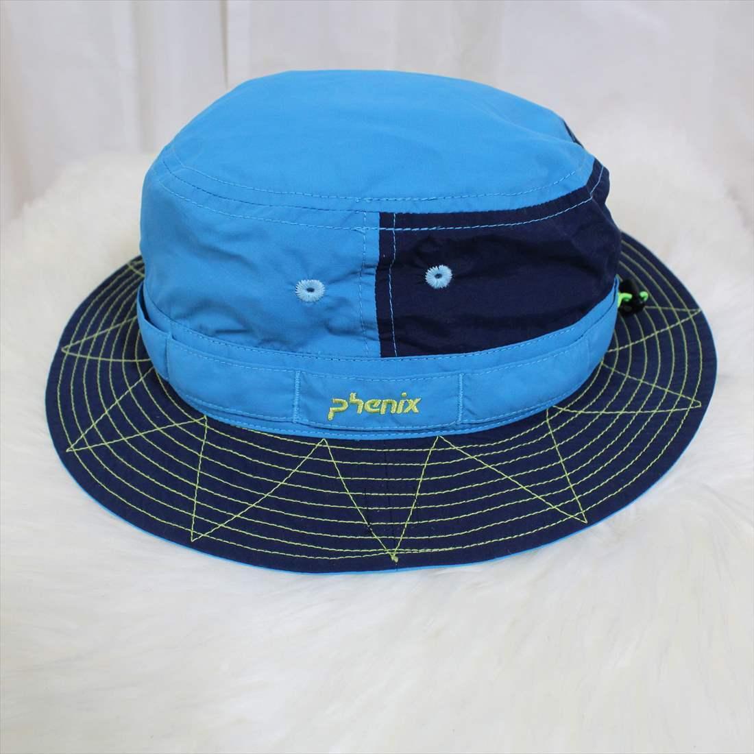 フェニックス phenix ハット 新品 ジュニアフリー 帽子 HAT レディース ブルー PH9A8HW42_画像3