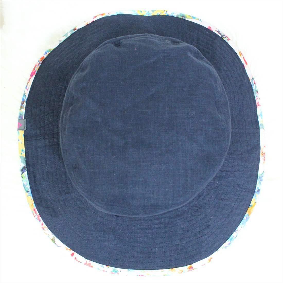 フェニックス phenix 麻 ハット 新品 帽子 BROAD BRIMMED HAT レディース ネイビー PH928HW66 アウトレット_画像2