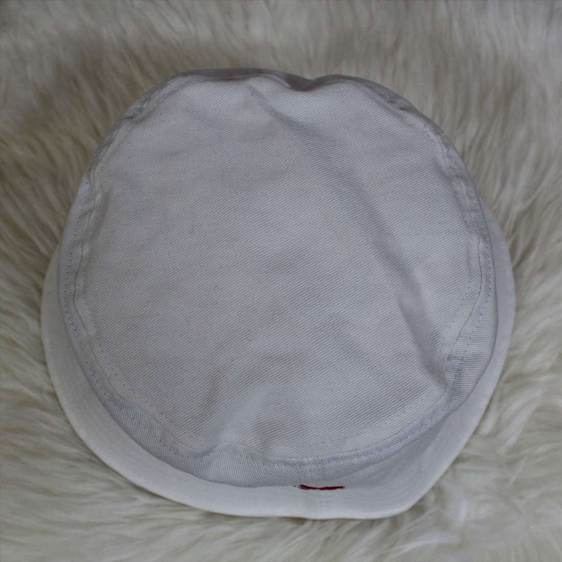 KISS TOKYO LIP LOGO HAT ロゴ刺繍 ホワイト ハット 新品 白 帽子_画像4