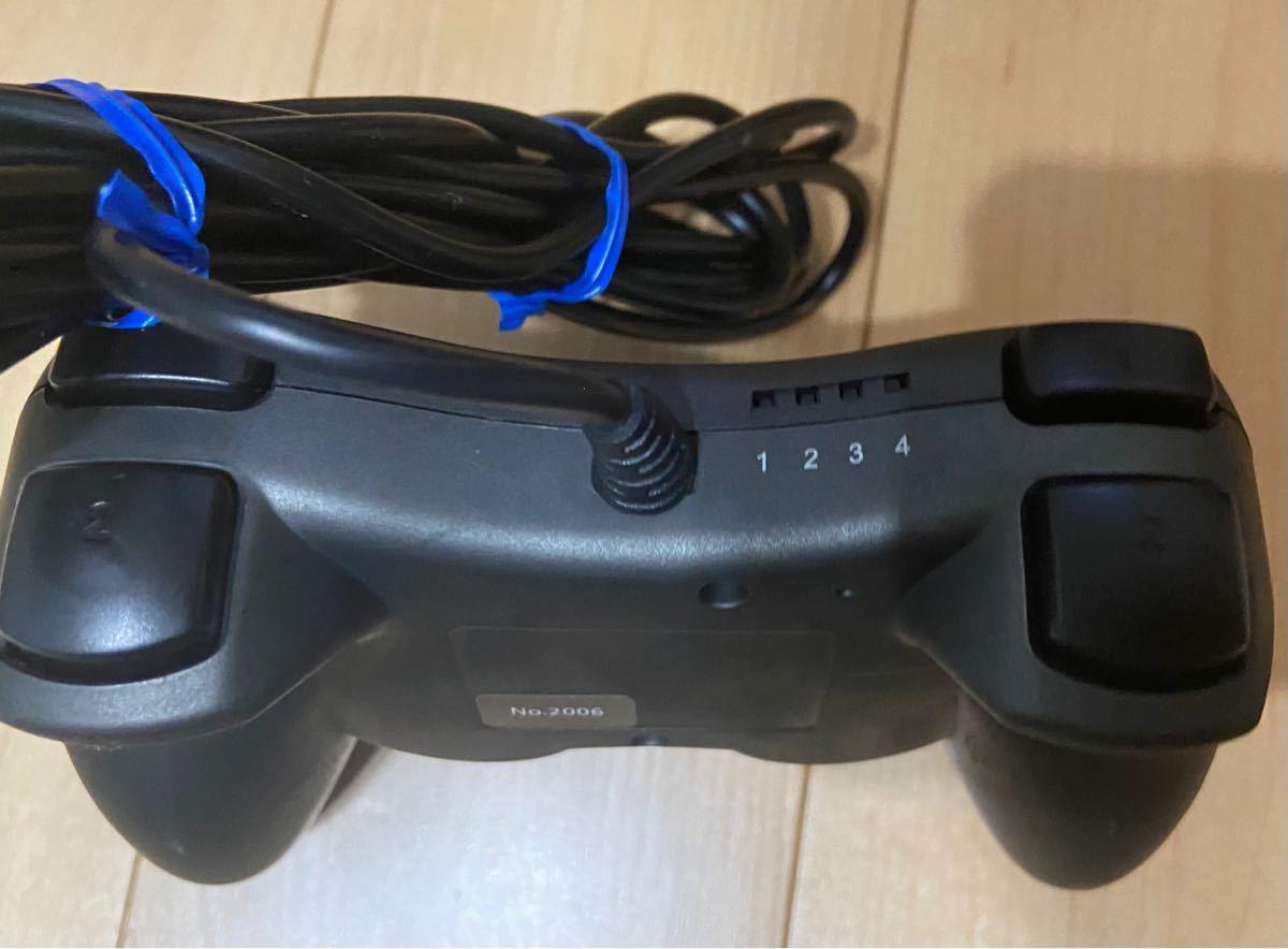 PS3 コントローラー ケーブル付き