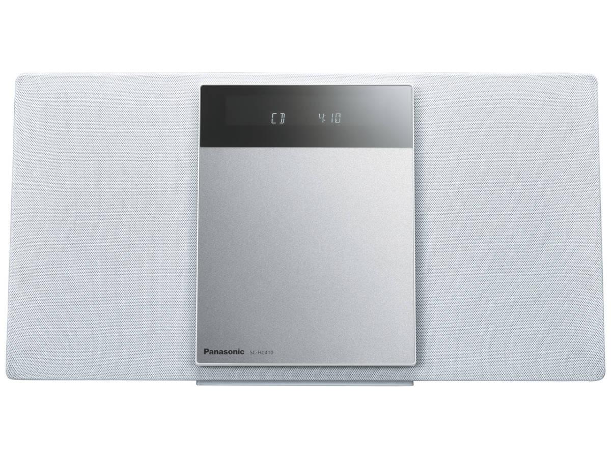 ☆彡パナソニック Panasonic SC-HC410-W[ホワイト] 展示品1年保証 コンパクトステレオシステム 高音質な薄型 AY_画像1