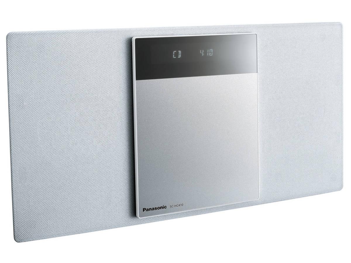 ☆彡パナソニック Panasonic SC-HC410-W[ホワイト] 展示品1年保証 コンパクトステレオシステム 高音質な薄型 AY_画像2