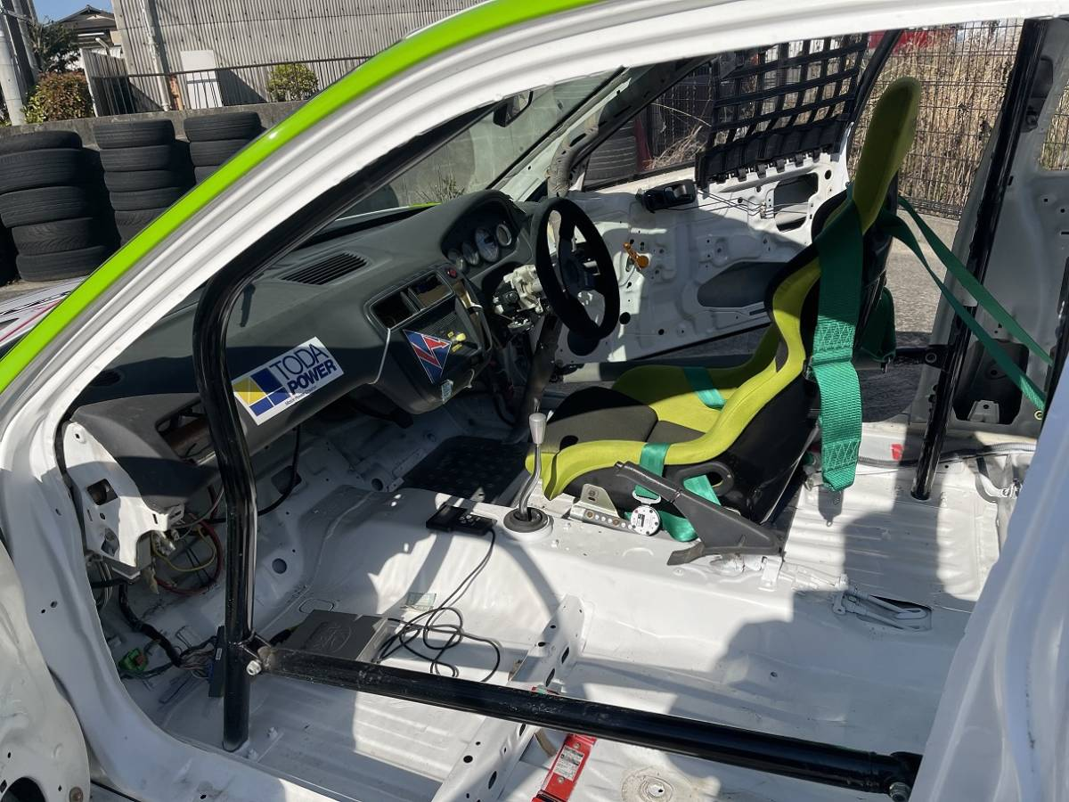 HONDA ホンダ シビック タイプR EK9 白/緑 CIVIC 改造多数 低走行 サーキット専用 レース 環状 USDM JDM_画像7