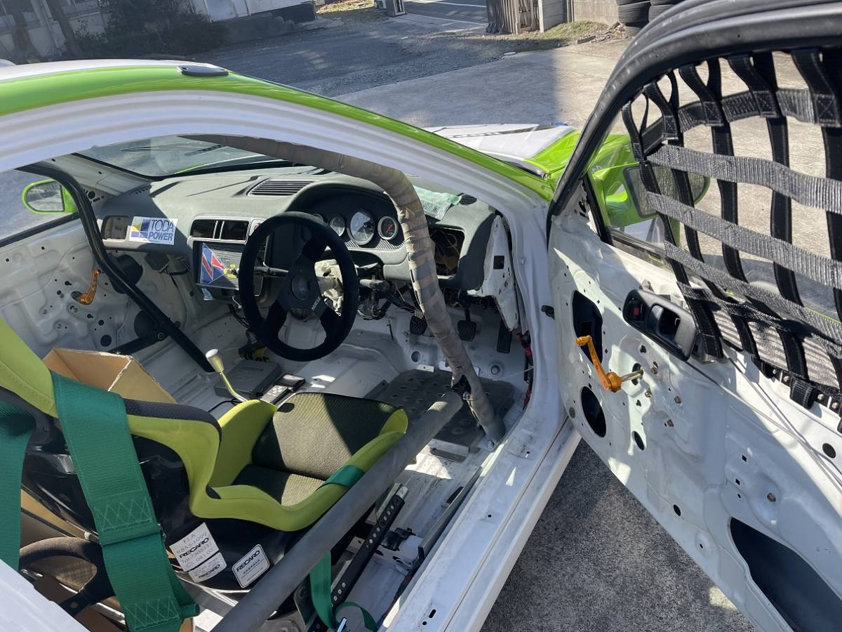 HONDA ホンダ シビック タイプR EK9 白/緑 CIVIC 改造多数 低走行 サーキット専用 レース 環状 USDM JDM_画像6