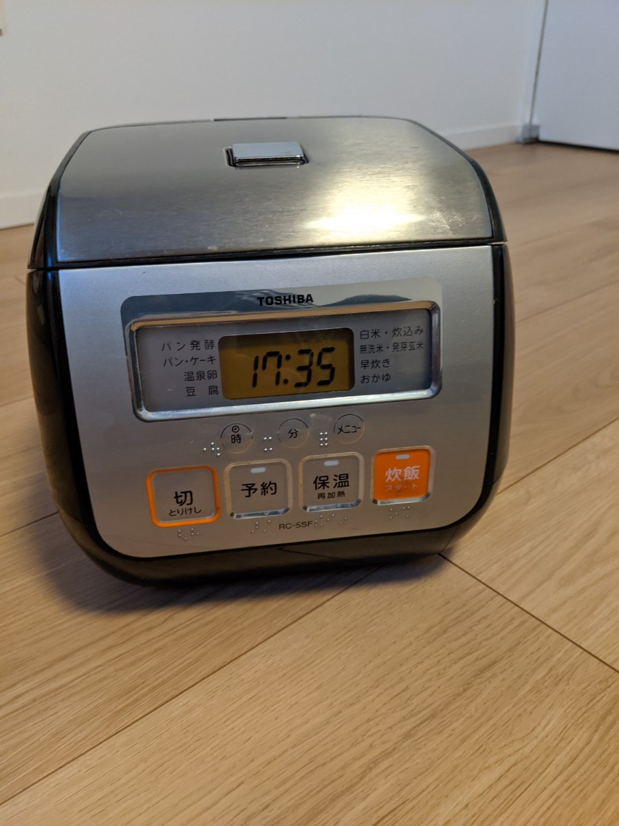 炊飯器 TOSHIBA 炊飯器3合炊き