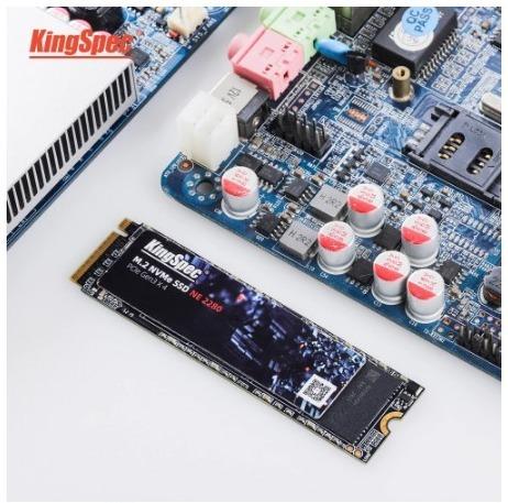 【送料無料】1724 SSD KingSpec M.2 NVMe PCI-E 128GB 新品未開封 高速 2280 TLC 内蔵型 NE-512_画像6