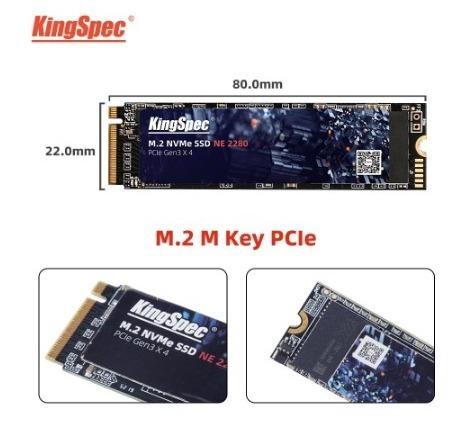 【送料無料】1724 SSD KingSpec M.2 NVMe PCI-E 128GB 新品未開封 高速 2280 TLC 内蔵型 NE-512_画像3