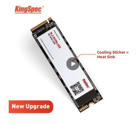 【送料無料】1724 SSD KingSpec M.2 NVMe PCI-E 128GB 新品未開封 高速 2280 TLC 内蔵型 NE-512_画像1
