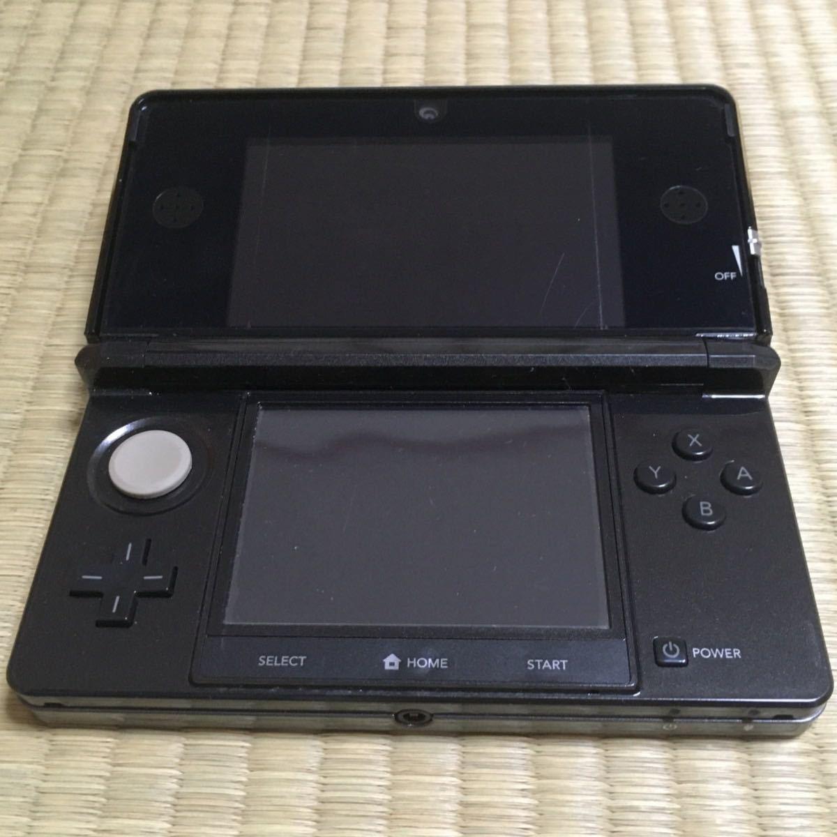 【美品】【大人気】任天堂 ニンテンドー 3DS コスモブラック スーパーマリオメーカー